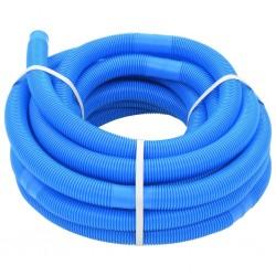 stradeXL Wąż do basenu, niebieski, 32 mm, 15,4 m