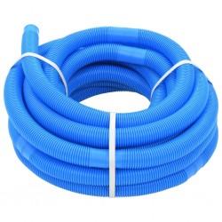 stradeXL Wąż do basenu, niebieski, 38 mm, 15 m