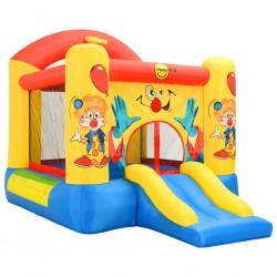 Happy Hop Dmuchany zamek ze zjeżdżalnią, 330x230x230 cm, PVC