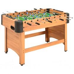 stradeXL Stół do gry w piłkarzyki, 118 x 95 x 79 cm, klon