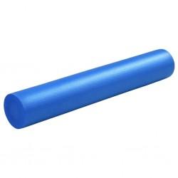 stradeXL Piankowy wałek do jogi, 15 x 90 cm, EPE, niebieski