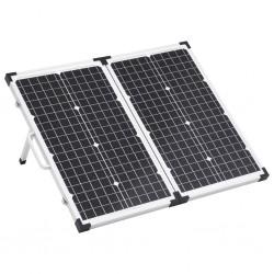 stradeXL Składany panel solarny, walizkowy, 60 W, 12 V