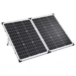 stradeXL Składany panel solarny, walizkowy, 120 W, 12 V