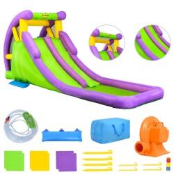 Happy Hop Nadmuchiwana zjeżdżalnia z basenem, 600x215x255 cm, PVC