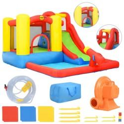 Happy Hop Dmuchany zamek ze zjeżdżalnią i basenem, 350x280x190 cm, PVC