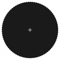 stradeXL Mata do trampoliny 4,57 m, czarna, okrągła
