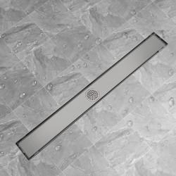 stradeXL Odpływ/Spust liniowy przysznicowy 1030x140 mm, stal nierdzewna