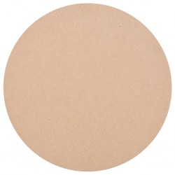 stradeXL Table Top Round MDF 900x18 mm