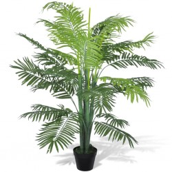 Artificial Phoenix Palm Tree with Pot 130 cm