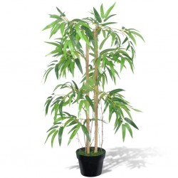 stradeXL Artificial Bamboo Plant Twiggy with Pot 90 cm