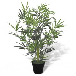 stradeXL Artificial Bamboo Tree with Pot 80 cm