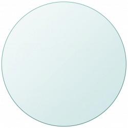 stradeXL Blat stołu szklany, okrągły 400 mm