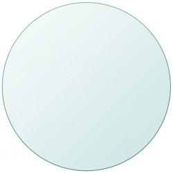 stradeXL Blat stołu szklany, okrągły, 700 mm