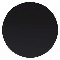 stradeXL Table Top Tempered Glass Round 400 mm