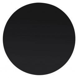 stradeXL Blat stołu ze szkła hartowanego, okrągły, 500 mm