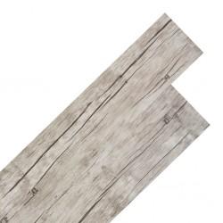 stradeXL Samoprzylepne panele podłogowe PVC 5,02 m², 2 mm, spłowiały dąb