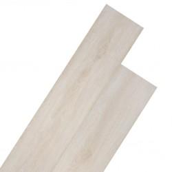 stradeXL Samoprzylepne panele podłogowe z PVC, 5,02 m², 2 mm, biały dąb
