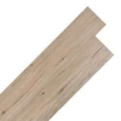 stradeXL Samoprzylepne panele podłogowe PVC, 5,02 m², 2 mm, dębowy brąz