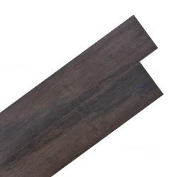 stradeXL Samoprzylepne panele podłogowe, 5,02 m² PVC 2 mm, ciemnobrązowe