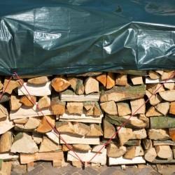 Nature Plandeka na drewno, 2 x 8 m, PE, zielona, 6072413