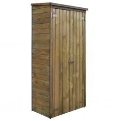 stradeXL Szopa na narzędzia, drewno sosnowe, 85 x 48 x 177 cm