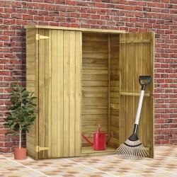 stradeXL Szopa na narzędzia, 123x50x171 cm, impregnowane drewno sosnowe