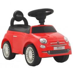 stradeXL Samochód jeździk Fiat 500, czerwony