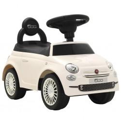 stradeXL Samochód jeździk Fiat 500, biały