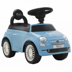 stradeXL Samochód jeździk Fiat 500, niebieski