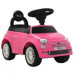 stradeXL Samochód jeździk Fiat 500, różowy