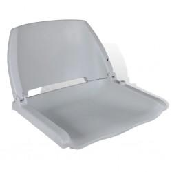 stradeXL Składany fotel na łódź, szary, 41x51x48 cm