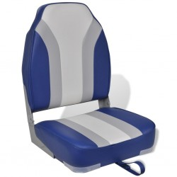 Foldable Boat Chair High Backrest