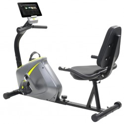 stradeXL Magnetic Recumbent Exercise Bike with Pulse Measurement