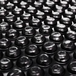 stradeXL Pool Cover Black 417 cm PE