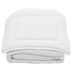 stradeXL 2 Piece Kids Winter Duvet Set White 100x135 cm/40x60 cm