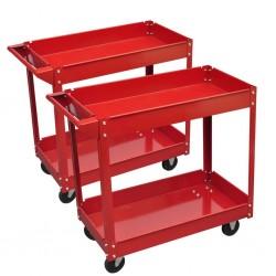 Wózek na narzędzia 2 sztuki.