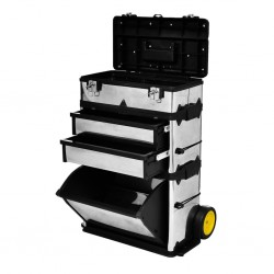 stradeXL 3-częściowa skrzynka na narzędzia
