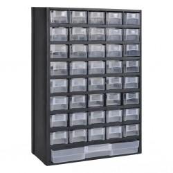 stradeXL Szafka na narzędzia, 41 szuflad