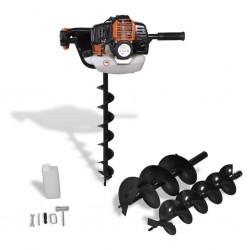 stradeXL Auger Ground Drill Orange