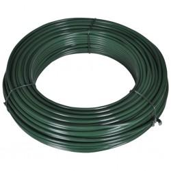 stradeXL Drut naciągowy, 80 m, 2,1/3,1 mm, stalowy, zielony