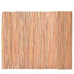 stradeXL Ogrodzenie z bambusa, 100x400 cm
