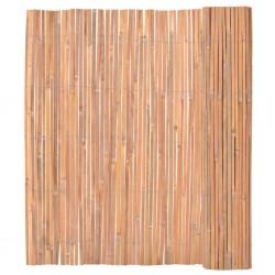 stradeXL Ogrodzenie z bambusa, 150x400 cm