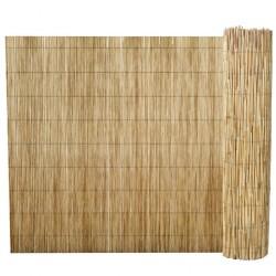 stradeXL Ogrodzenie z trzciny, 150 x 500 cm