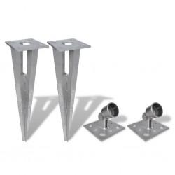 stradeXL Strive Post Spikes 2 pcs Steel