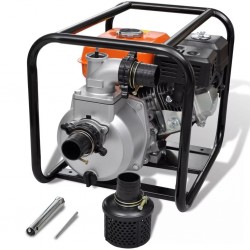 stradeXL Petrol Engine Water Pump 50 mm Connection 6.5 HP
