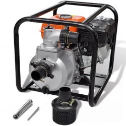 visaXL Spalinowa pompa wodna, przyłączenie 50 mm, 5,5 KM