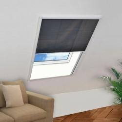 stradeXL Plisowana moskitiera okienna, 110 x 160 cm