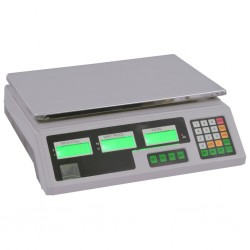 stradeXL Waga cyfrowa do 30 kg z akumulatorem