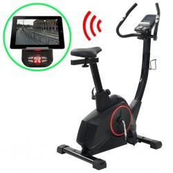 stradeXL Programowalny rower do ćwiczeń z pomiarem tętna