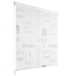 stradeXL Shower Roller Blind 80x240 cm Splash
